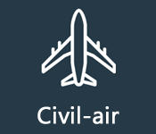 Live scanner stream civil-air