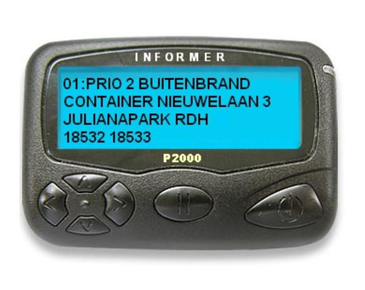 Scannernet Nl Webshop Infomer Pro P2000 Pager